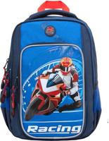 Купить Grizzly Рюкзак школьный цвет синий RB-861-1/1, Ранцы и рюкзаки