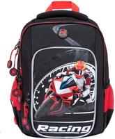 Купить Grizzly Рюкзак школьный цвет черный RB-861-1/4, Ранцы и рюкзаки