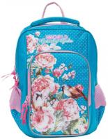 Купить Grizzly Рюкзак школьный цвет голубой RG-866-2/1, Ранцы и рюкзаки