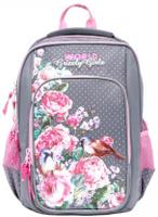 Купить Grizzly Рюкзак школьный цвет серый RG-866-2/2, Ранцы и рюкзаки