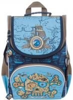 Купить Grizzly Рюкзак школьный с мешком цвет синий голубой RA-872-1/1, Ранцы и рюкзаки