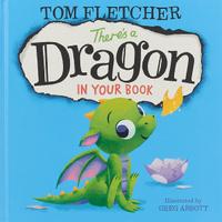 Купить Theres a Dragon in Your Book, Зарубежная литература для детей
