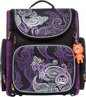 Купить Orange Bear Рюкзак школьный Classic цвет черный фиолетовый, Ранцы и рюкзаки