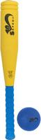 Купить Safsof Игровой набор Бейсбольная бита и мяч цвет желтый синий, Спортивные игры