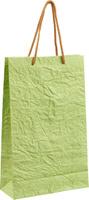 Купить Пакет подарочный Дизайнерский , цвет: светло-зеленый, 28 х 17 х 7 см. 2728081, Подарочная упаковка