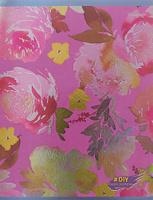 Купить Unnika Land Тетрадь DIY Collection Цветочное великолепие 48 листов в клетку цвет фиолетовый, Тетради