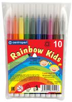 Купить Набор фломастеров Centropen Rainbow Kids, 10 цветов, Фломастеры
