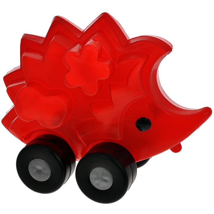 Купить Игрушка-каталка Ежик , Строим вместе счастливое детство, Первые игрушки