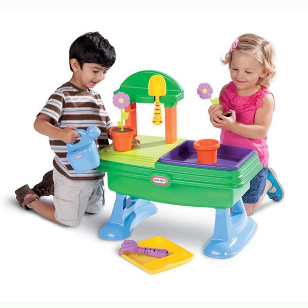 Купить Игровой стол-песочница Little Tikes Юный садовод , MGA Entertainment, Игрушки для песочницы