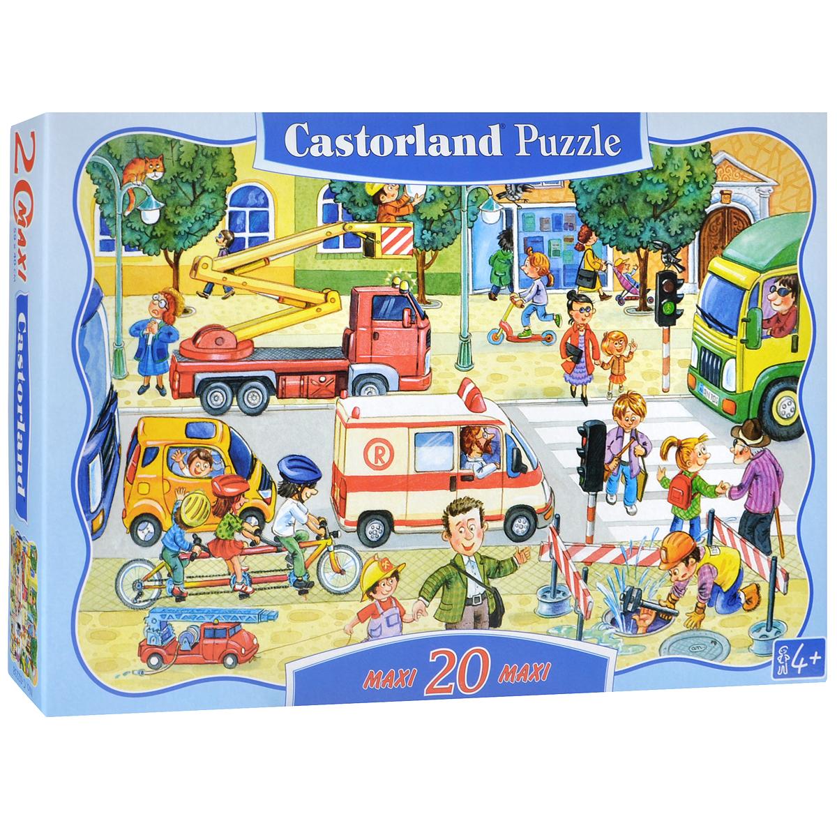 Купить Castorland Пазл для малышей Город, Castorland Puzzle, Обучение и развитие
