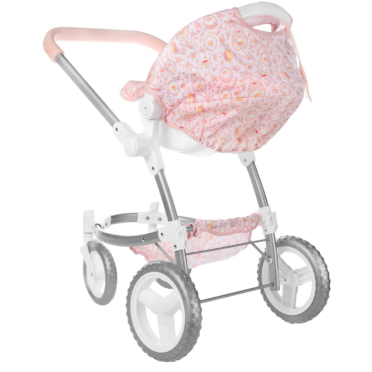 Купить Baby Annabell Коляска для прогулок, цвет: светло-розовый, ZAPF Creation, Куклы и аксессуары
