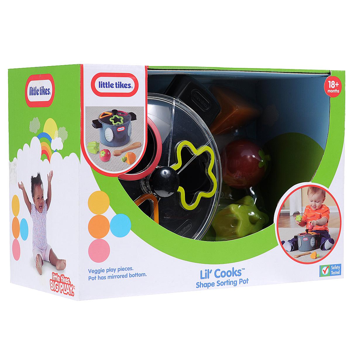 Купить Игрушка-сортер Little Tikes Кастрюлька , MGA Entertainment, Развивающие игрушки