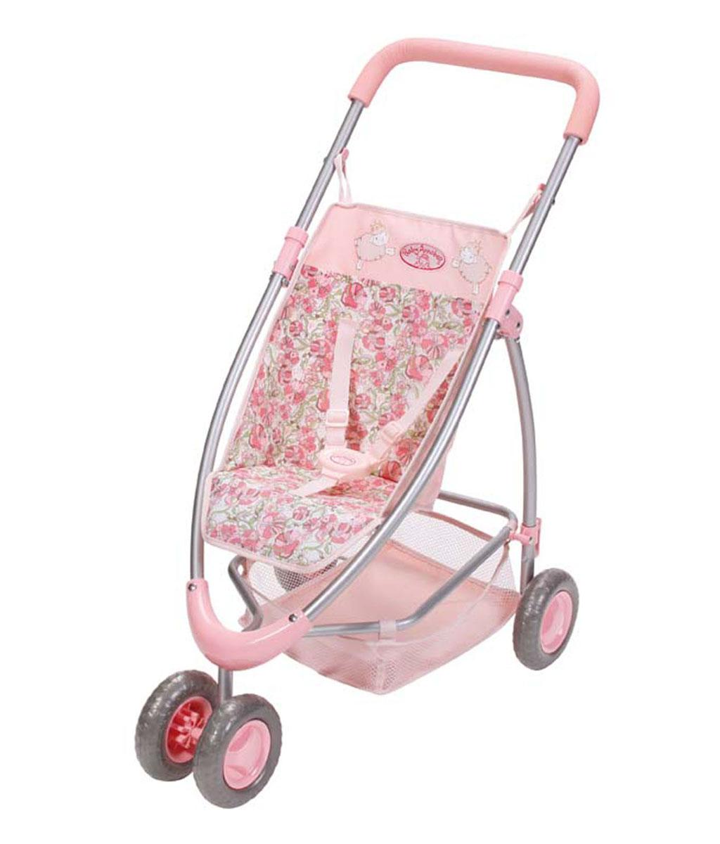 Купить Baby Annabell Коляска для куклы с сеткой цвет розовый, ZAPF Creation, Куклы и аксессуары