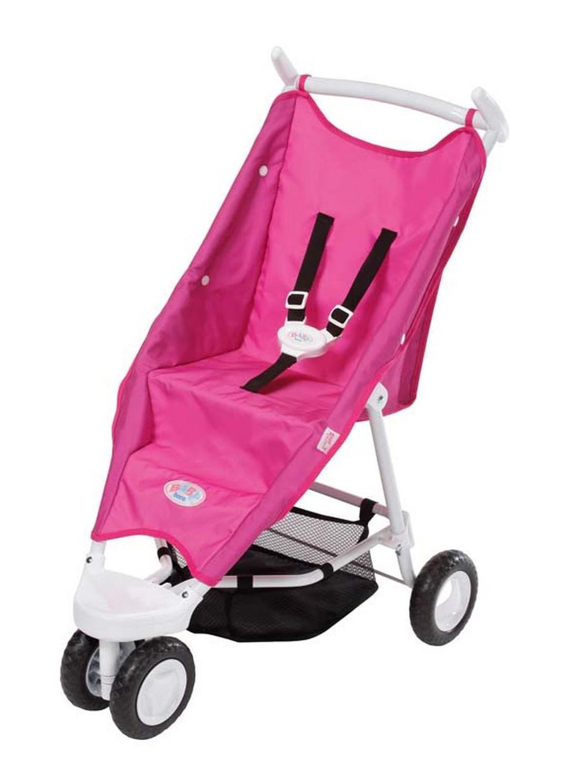 Купить Baby Born Коляска прогулочная, цвет: розовый. 818-282, ZAPF Creation, Куклы и аксессуары