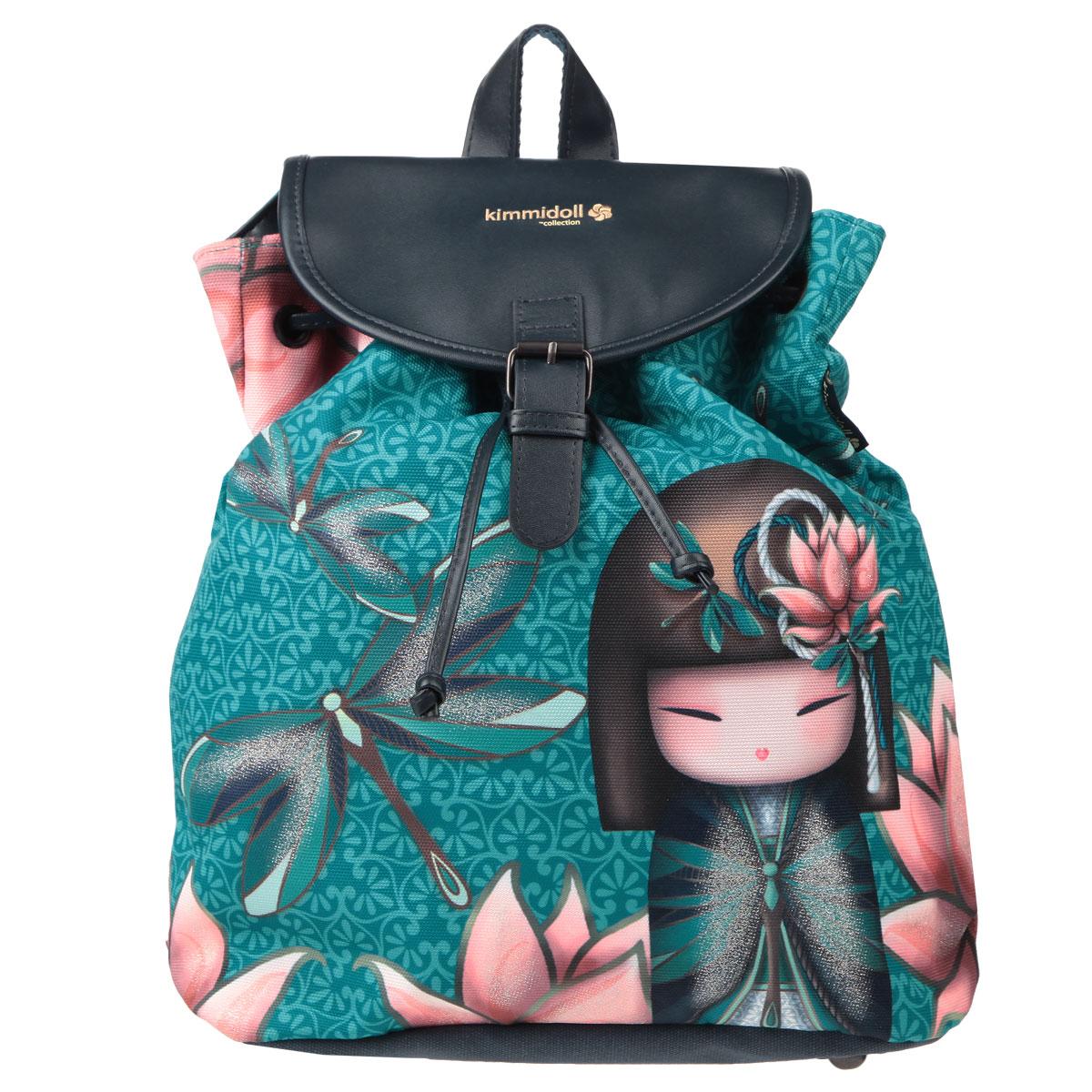 Купить Рюкзак детский Kimmidoll , цвет: бирюзовый, Kinderline International Ltd., Ранцы и рюкзаки