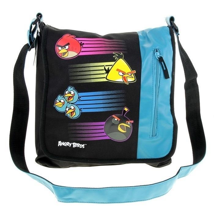 Купить Сумка спортивная Размер 35 х 33 х 6 см. Angry Birds, Kinderline
