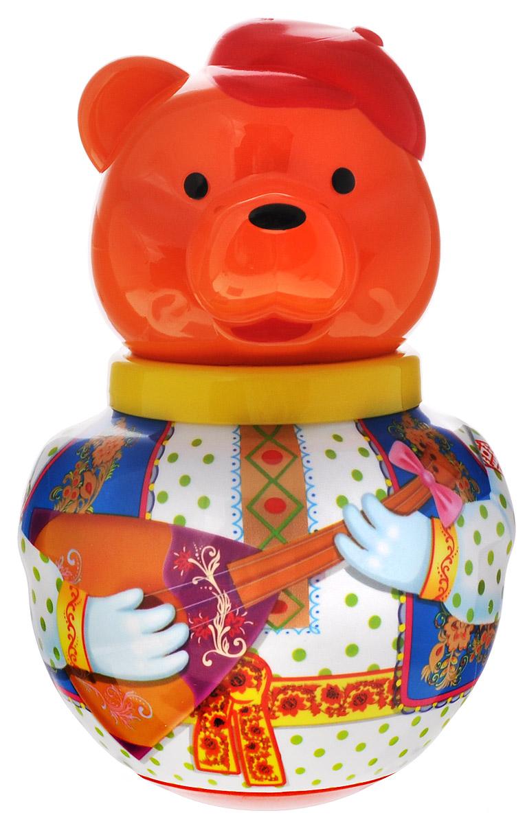 Купить Stellar Неваляшка Бурый медведь Потапыч с балалайкой, Стеллар, Первые игрушки