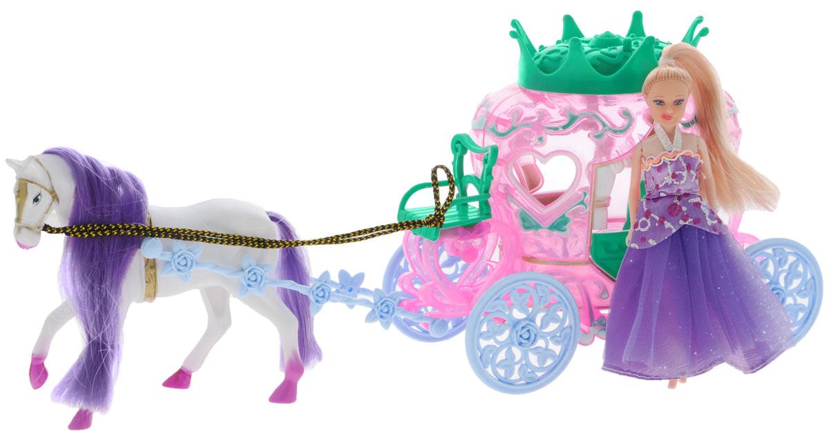 Купить Junfa Toys Игровой набор Волшебная карета, Junfa Toys Ltd, Куклы и аксессуары