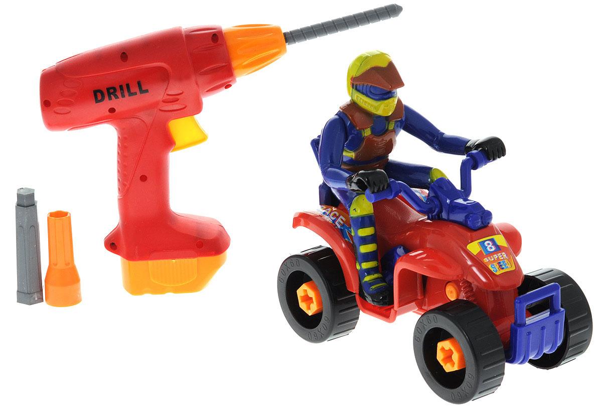 Купить ABtoys Помогаю папе Набор инструментов 4 предмета, Junfa Toys Ltd, Сюжетно-ролевые игрушки