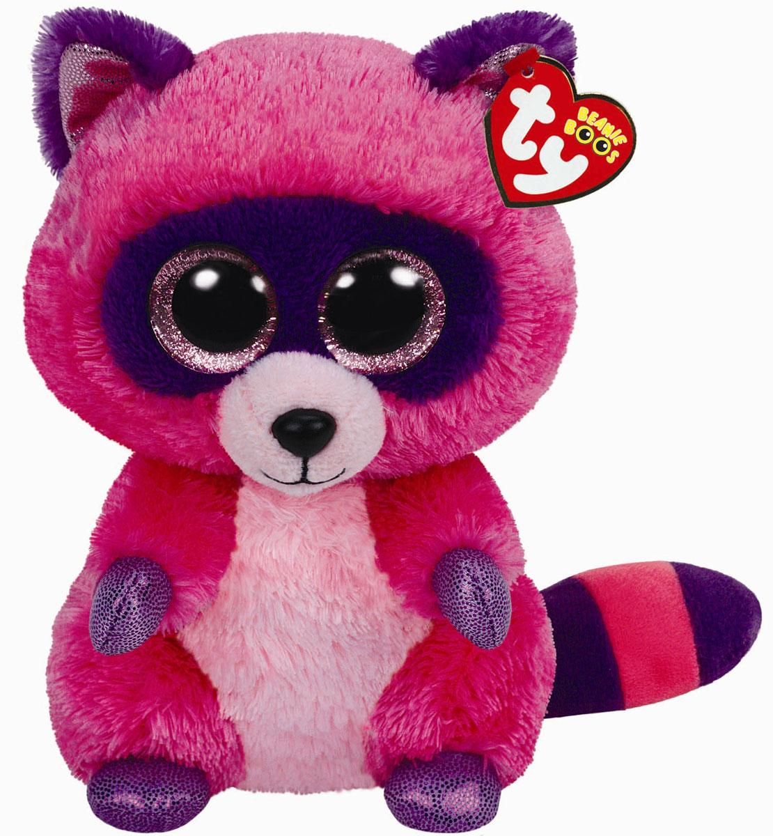 Купить TY Мягкая игрушка Енот Roxie 22 см, TY Inc, Мягкие игрушки