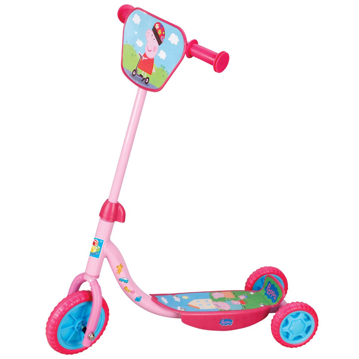 Купить 1TOY Самокат детский трехколесный Peppa, Solmar Pte Ltd, Самокаты