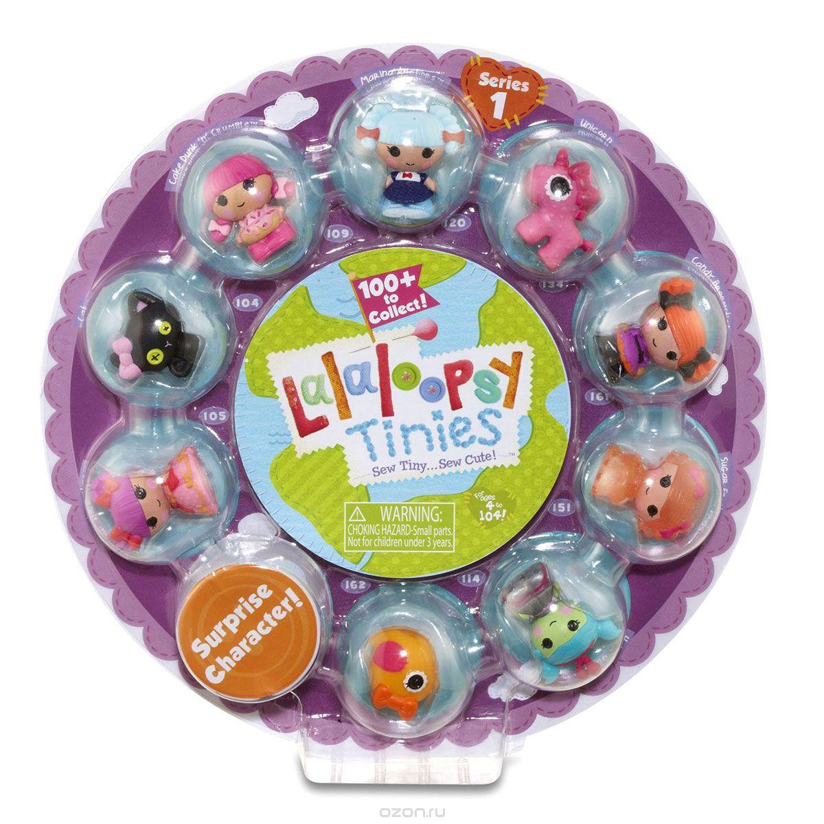 Купить Lalaloopsy Набор фигурок Малютки Series 1 цвет розовый, MGA Entertainment