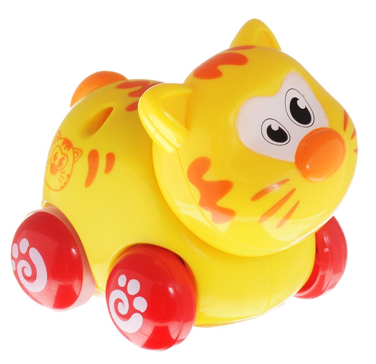 Купить Huile Toys Машинка инерционная Кот