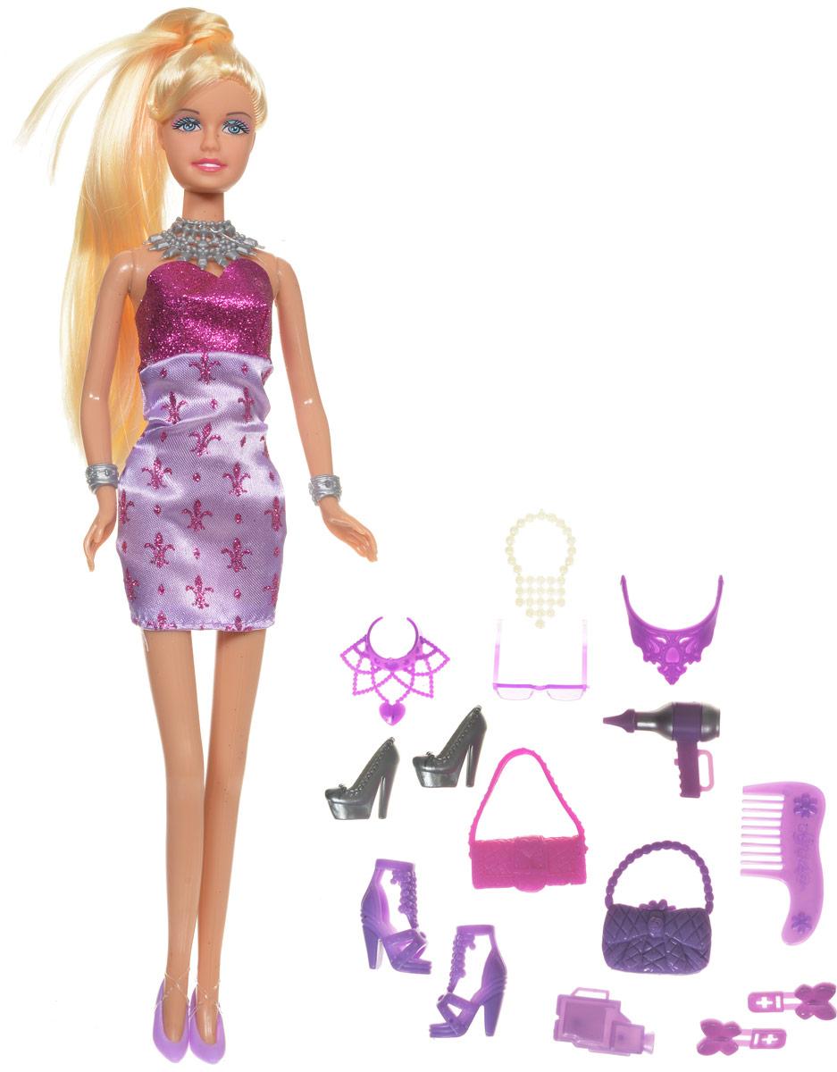 Купить Defa Кукла Lucy Модница цвет сиреневый розовый, Defa Toys, Куклы и аксессуары