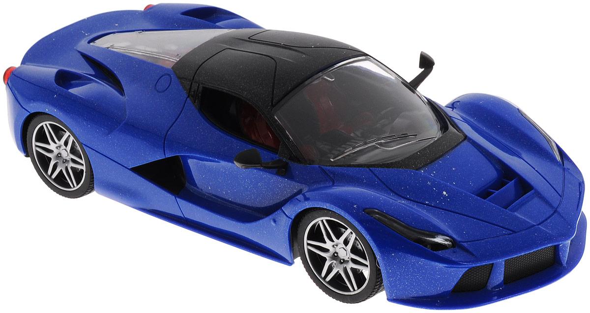 Купить Junfa Toys Машинка инерционная Racing Bicycle цвет синий, Junfa Toys Ltd, Машинки