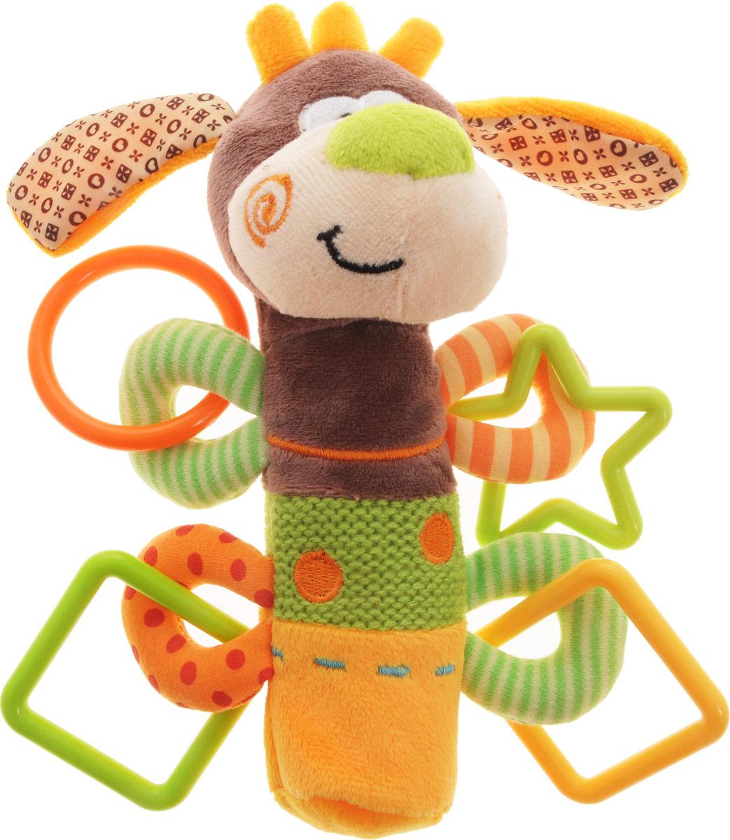 Купить Жирафики Развивающая игрушка-пищалка Щенок, Развивающие игрушки