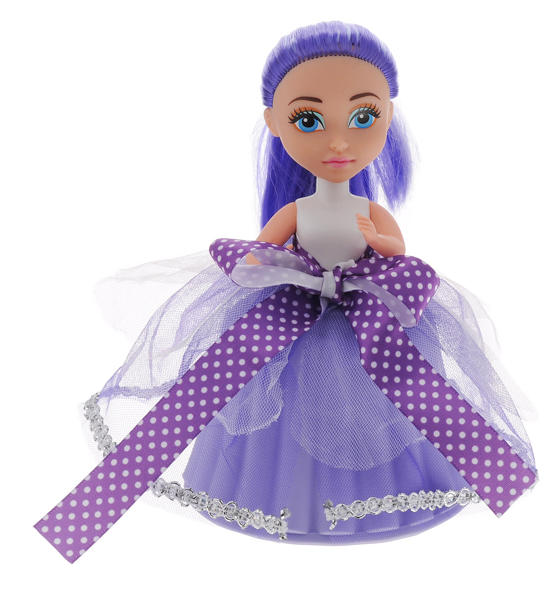 Купить ABtoys Мини-кукла Сладкий сюрприз цвет фиолетовый, Куклы и аксессуары