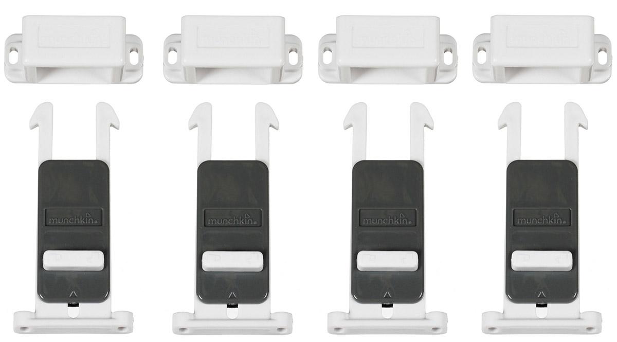 Купить Munchkin Блокиратор для выдвижных ящиков Xtrasafe 4 шт, Munchkin Inc., Блокирующие и защитные устройства