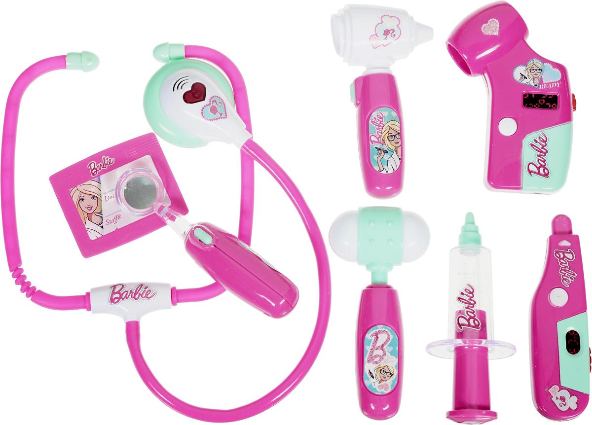 Купить Corpa Игровой набор Юный доктор Barbie 8 предметов, Сюжетно-ролевые игрушки