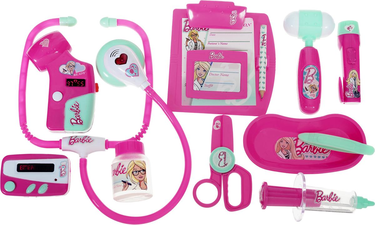 Купить Corpa Игровой набор Юный доктор Barbie 12 предметов, Сюжетно-ролевые игрушки