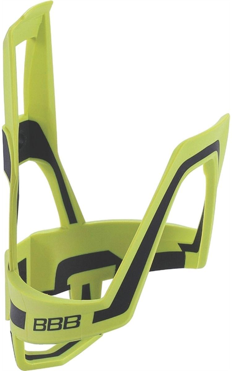 Купить Флягодержатель велосипедный BBB DualCage , цвет: желтый, черный, Фляги и флягодержатели