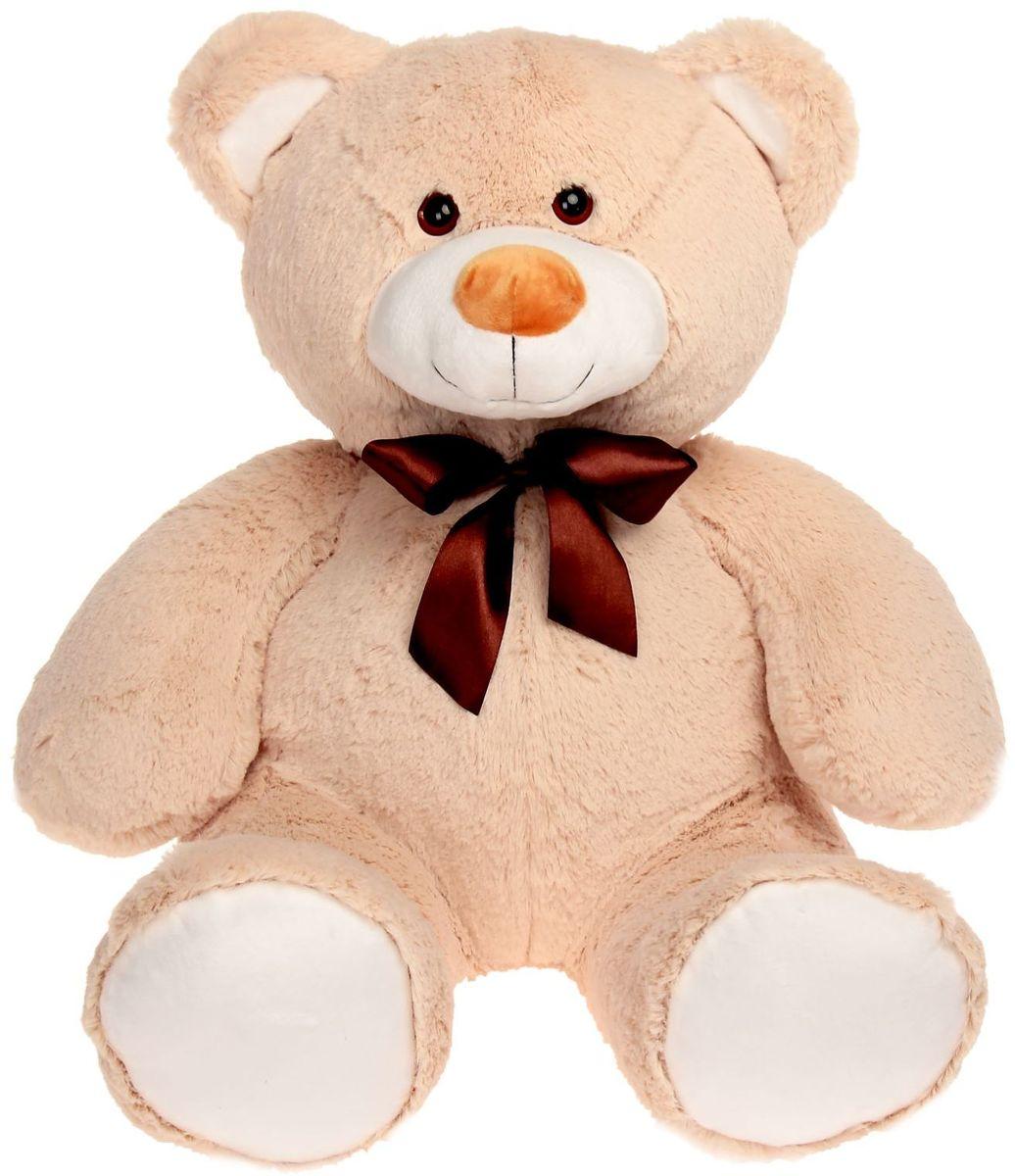 Купить Princess Love Мягкая игрушка Мишка Рон цвет бежевый 70 см 2057692, Сима-ленд, Мягкие игрушки