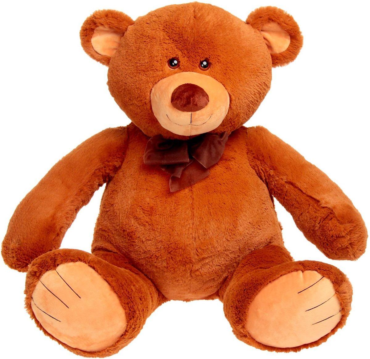 Купить Princess Love Мягкая игрушка Мишка Труди цвет коричневый 80 см 2057699, Сима-ленд, Мягкие игрушки