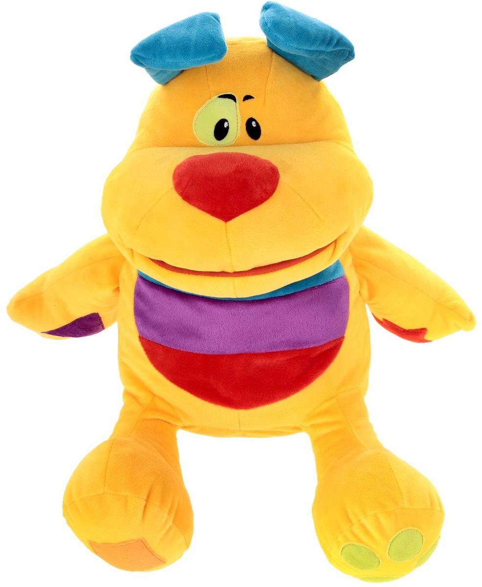 Купить СмолТойс Мягкая игрушка Собачка-развивашка 45 см 2224301, Сима-ленд, Мягкие игрушки