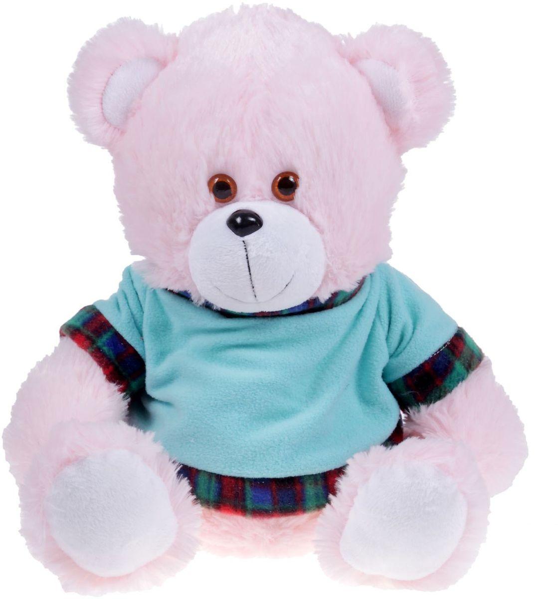 Купить Нижегородская игрушка Мягкая игрушка Медведь в футболке 621499, Сима-ленд, Мягкие игрушки