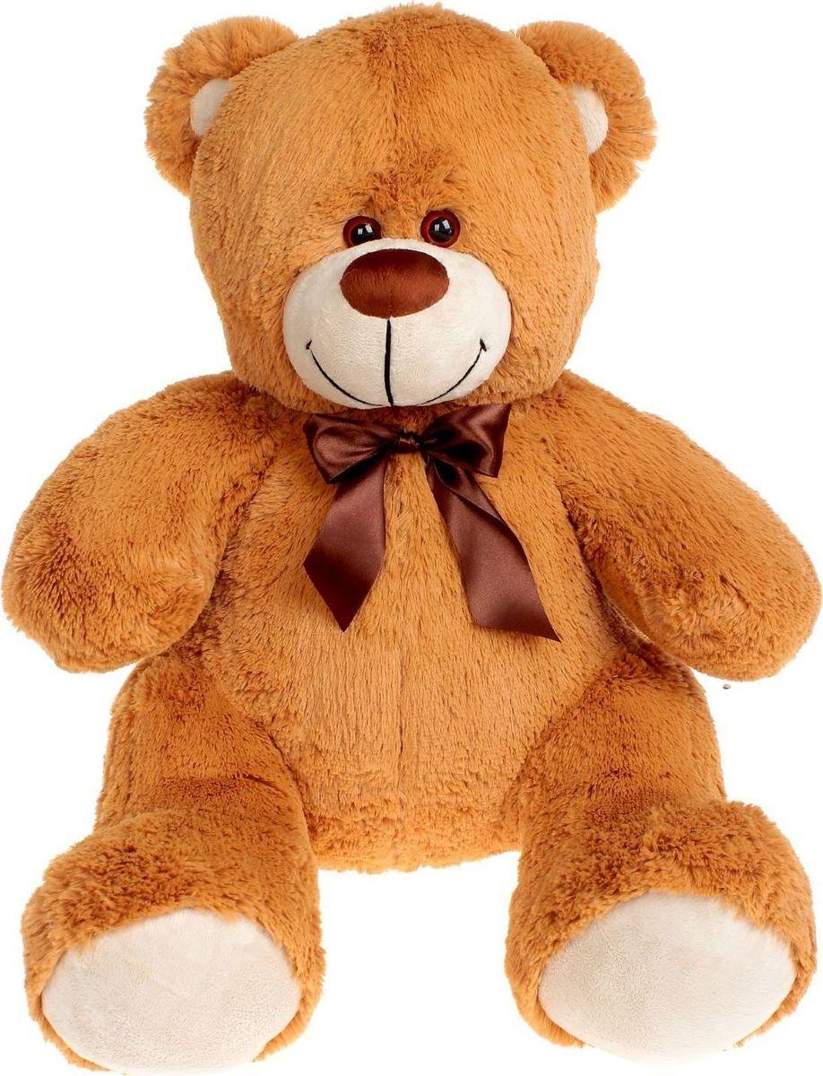 Купить Три мишки Мягкая игрушка Мишка Кузя Premium Quality цвет шоколадный 55 см, Мягкие игрушки