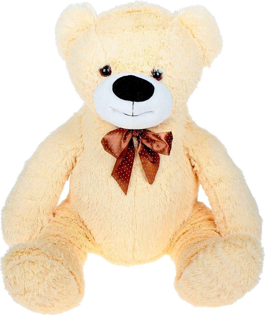 Купить Sima-land Мягкая игрушка Медведь игольчатый цвет бежевый 60 см, Мягкие игрушки