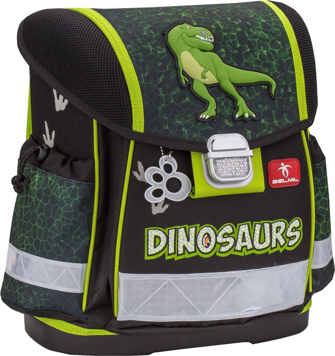 Купить Belmil Ранец школьный для мальчика Classy Dinosaur, Ранцы и рюкзаки