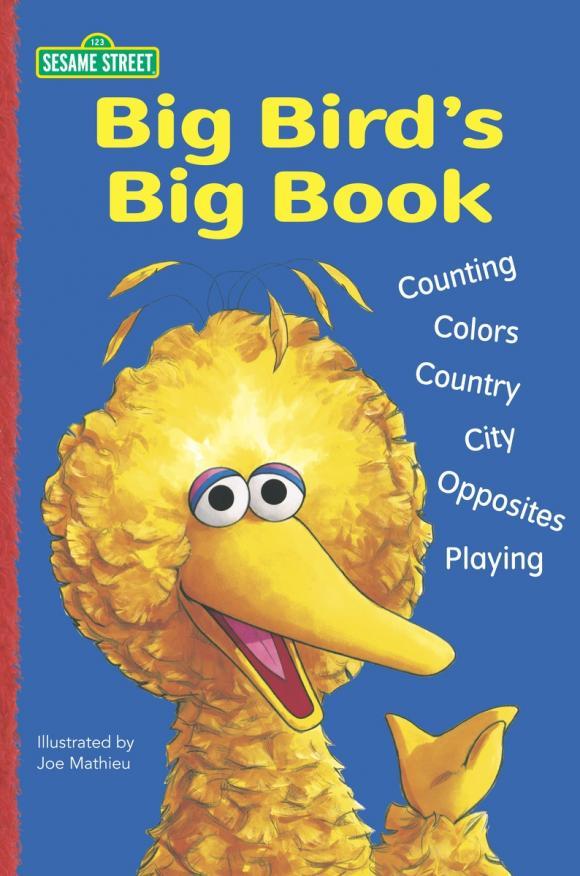 Купить Big Bird's Big Book (Sesame Street), Зарубежная литература для детей