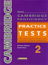 New Cambridge Proficiency: Practice Tests 2: For the Certificate of Proficiency in English Examination,