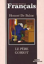 Le pere Goriot, Honore De Balzac
