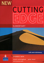 New Cutting Edge: Elementary: Student's Book (with Mini-Dictionary),