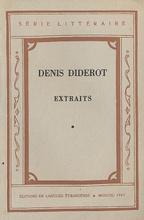 Denis Diderot. Extraits,