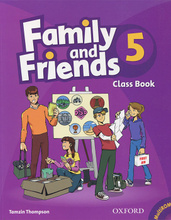 Family and Friends 5: Class Book (+ CD-ROM),