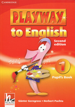 Playway to English 1: Pupil's Book (+ наклейки),