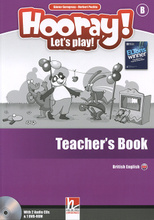 Hooray! Let's Play! Level B: Teacher's Book (+ 2 CD и DVD-ROM),